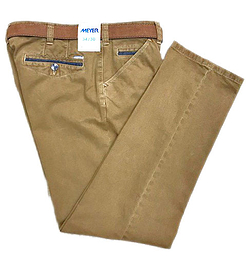 Meyer 2-5573  Chicago Trousers Tan