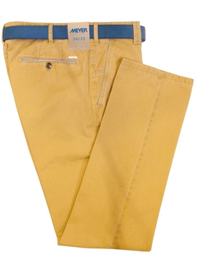 Meyer Ochre New York Trousers