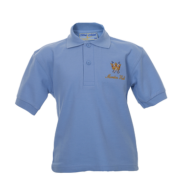 Moreton Hall Sky blue Polo