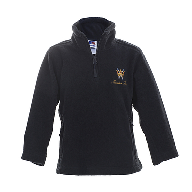 Moreton Hall Zip Fleece