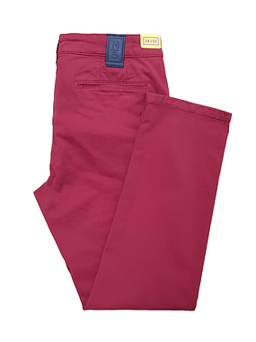 Meyer M5 Chino Trousers Red