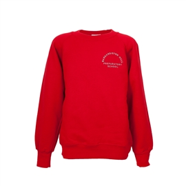 Barnardiston Hall Red Sweatshirt