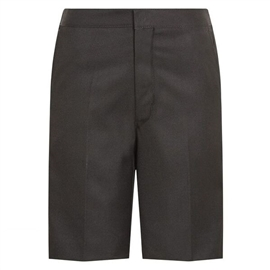Bermuda Black School Shorts