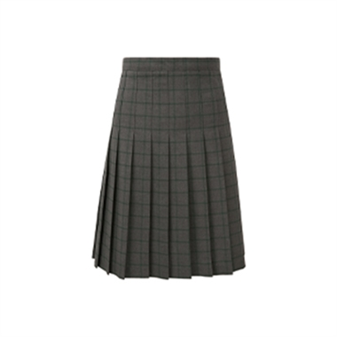 Ixworth School Check Pleated Skirt