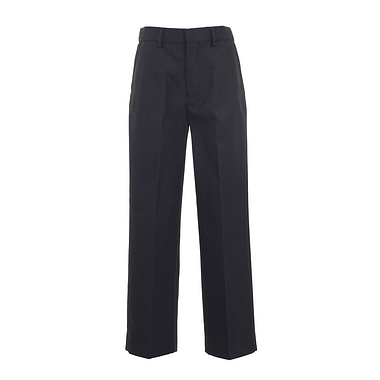 Trutex Junior Boys Classic Fit Trousers Charcoal