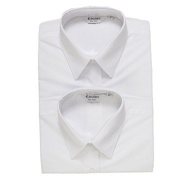 Trutex Long Sleeve White Blouses