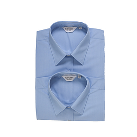 Trutex Long Sleeve Blue Blouses