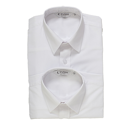 Trutex Long Sleeve White Shirts