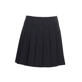 Trutex Pleated Skirt Black