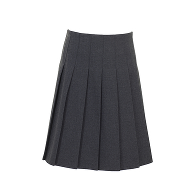 Trutex Pleated Skirt Grey