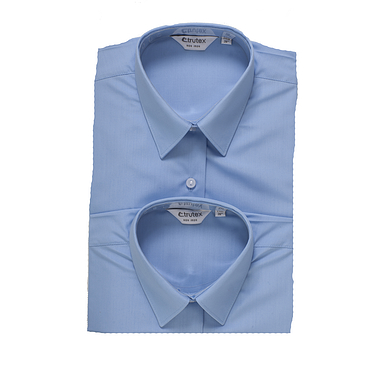 Trutex Short Sleeve Blue Blouses