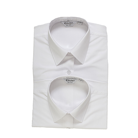 Trutex Short Sleeve White Blouses