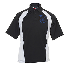 Westgate Primary Polo Black/White