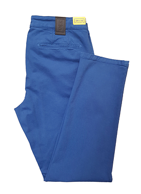 Meyer M5 Chino Trousers Blue