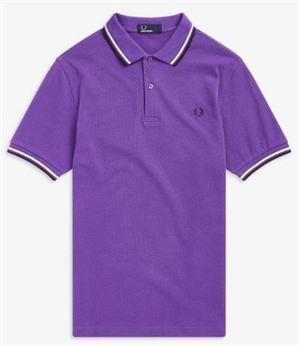 Fred Perry M3600 335 Twin Tipped Polo