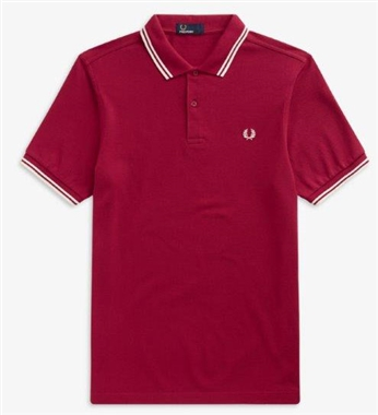 Fred Perry M3600 D75 Twin Tipped Polo