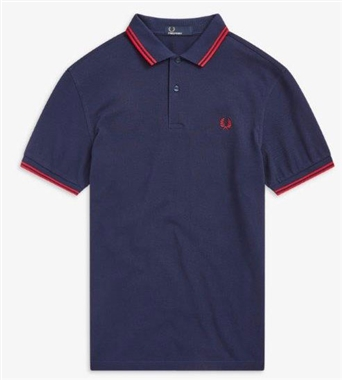 Fred Perry M3600 H29 Twin Tipped Polo