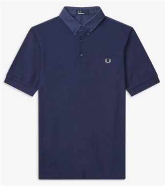 Fred Perry Oxford Trim Pique Polo