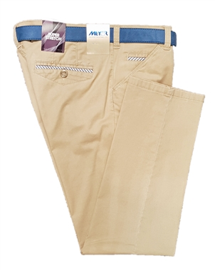 Meyer Beige Chicago Trousers