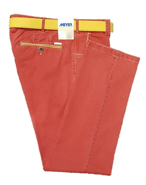 Meyer Red New York Trousers